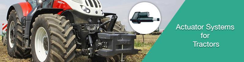 Actuators System for Tractors