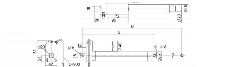 Standard vmd3 Actuator Technical Data