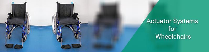 Actuators System for Wheelchairs