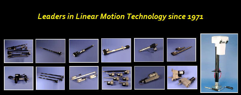 Leader in Linear Actuator Technology