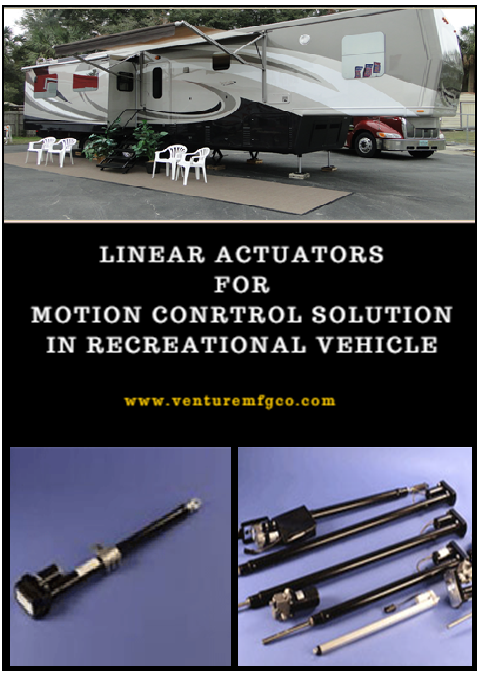 Linear Actuators for Recreational Vehicle