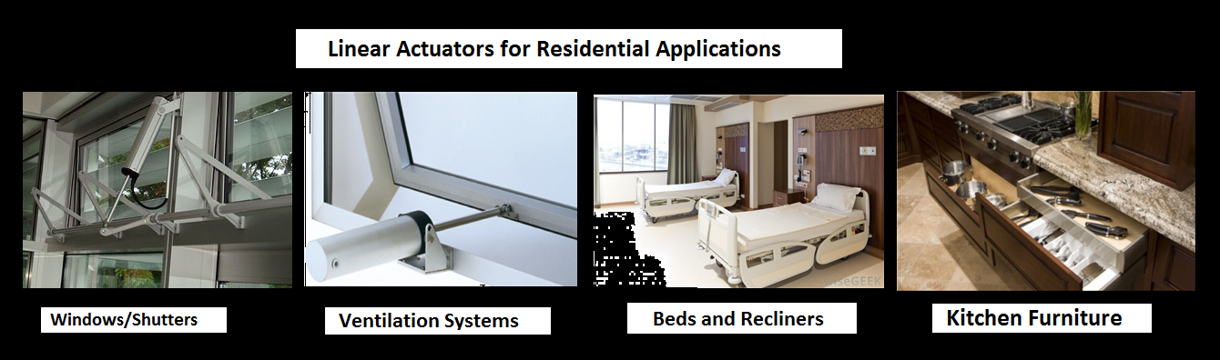 Linear Actuators for Residential home