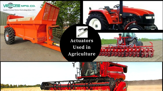 actuators for agriculture industry