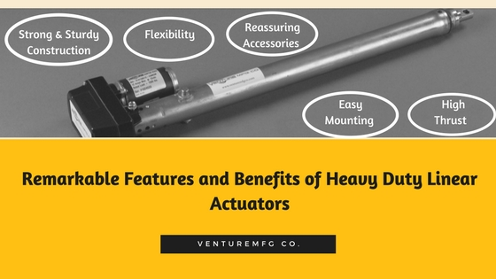 Heavy Duty Linear Actuators