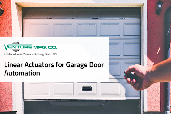 actuators for garage door automation