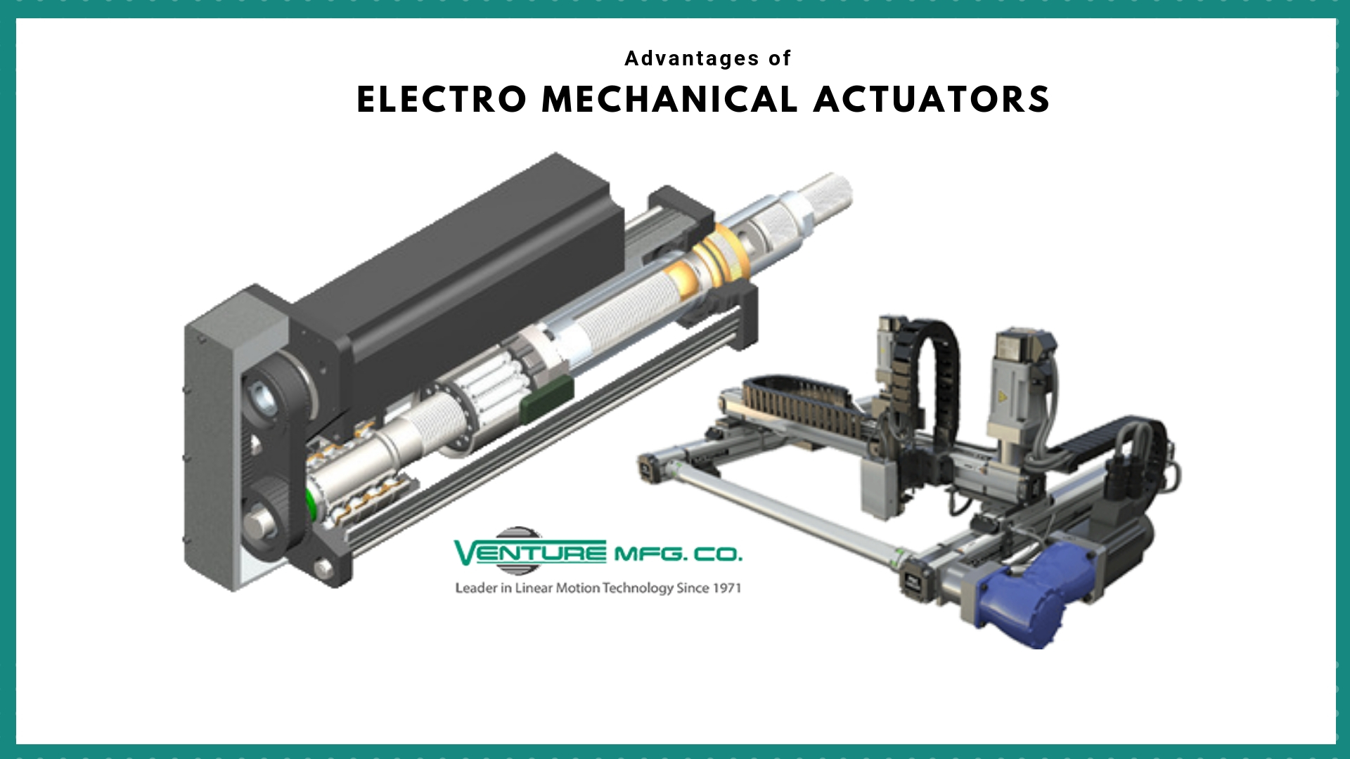 Advantages of Electro-Mechanical Actuators