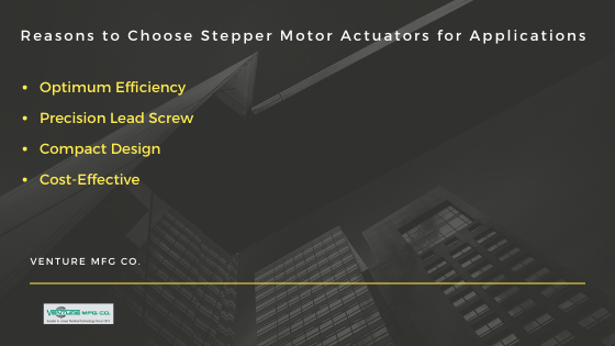 Stepper Motor Actuators