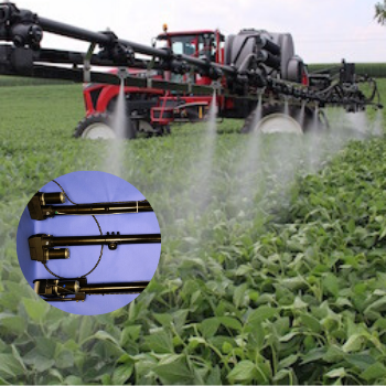 actuators for pesticide sprading