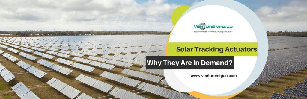 Solar Tracking Actuators