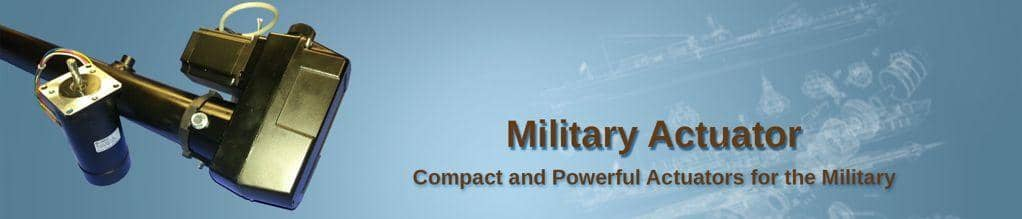 Military Actuators