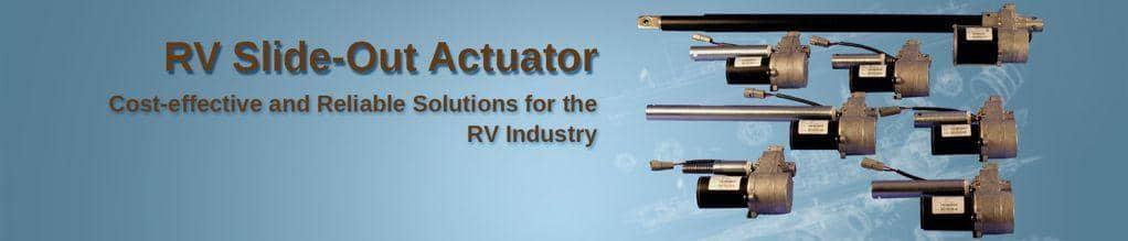 RV Slide Out Actuators